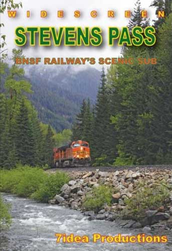 Stevens Pass BNSF Railways Scenic Sub DVD 7idea Productions 7BNSFSP