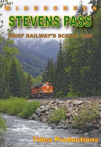 Stevens Pass BNSF Railways Scenic Sub DVD 7idea Productions 7BNSFSP