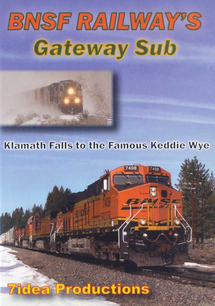 BNSF Railways Gateway Subdivision Train Video 7idea Productions 7IDEABNSFGW 884501171328