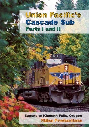 Union Pacifics Cascade Sub Part I and II 2 DVD Set 7idea Train Video 7idea Productions 7IDEACS 884501104586