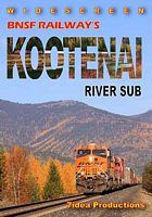 BNSF Railways Kootenai River Sub DVD