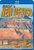 BNSFs New Mexico Mainline - The Gallup Sub BLU-RAY