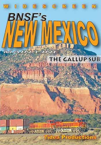 BNSFs New Mexico Mainline - The Gallup Sub DVD 7idea Productions 7NMGSDVD