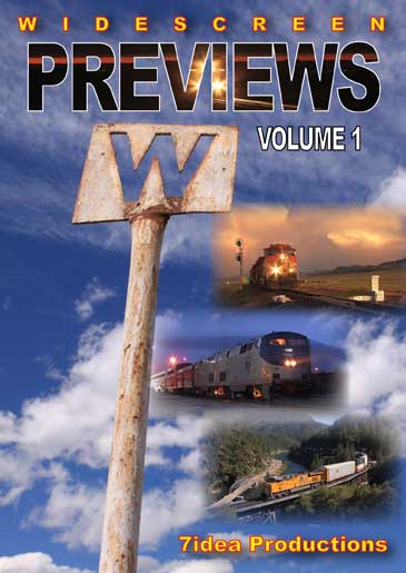 7idea Productions Previews Vol 1 DVD Train Video 7idea Productions 7PREV1DVD 888295000161