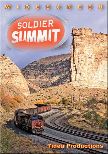 Soldier Summit Union Pacifics Provo Sub DVD Train Video 7idea Productions 7SOLDIERDVD 884501888332