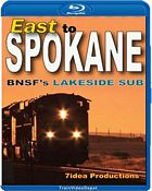 East to Spokane BNSFs Lakeside Sub BLU-RAY