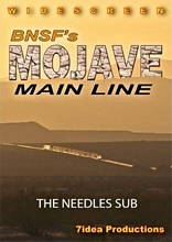 BNSFs Mojave Main Line DVD 7idea