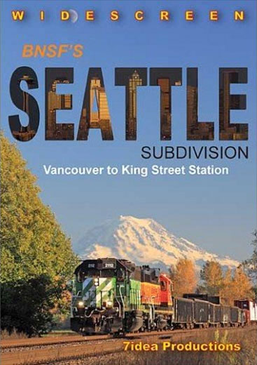 BNSFs Seattle Subdivision DVD Train Video 7idea Productions 7ISEADVD