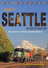 BNSFs Seattle Subdivision DVD