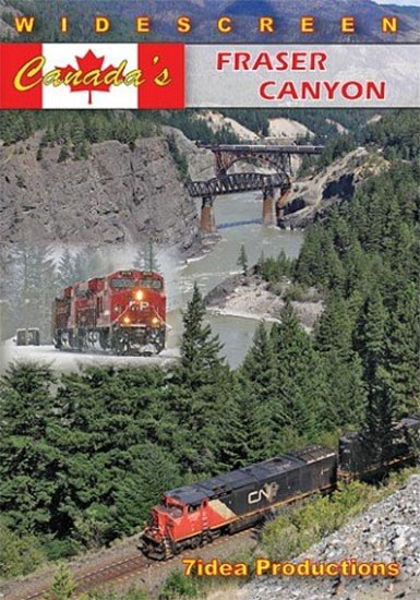 Canadas Fraser Canyon DVD Train Video 7idea Productions 020039D
