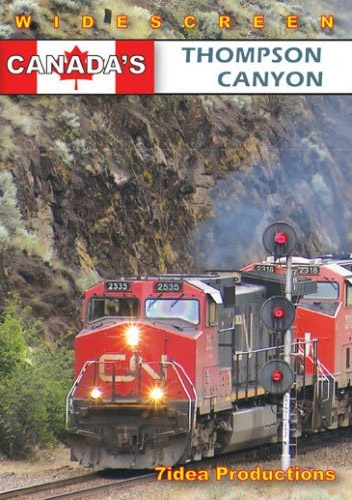 Canadas Thompson Canyon DVD Train Video 7idea Productions 020040D
