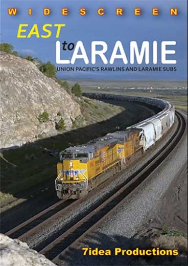 East to Laramie UP Rawlins and Laramie Subs DVD 7idea Productions 040051D
