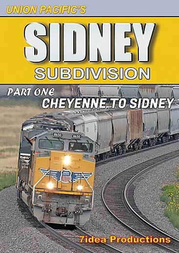 Union Pacifics Sidney Subdivision Cheyenne to Sidney Part 1 DVD 7idea Productions 7ISSP1D