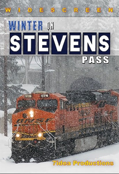 Winter on Stevens Pass DVD 7idea Productions 010053D 615855600215
