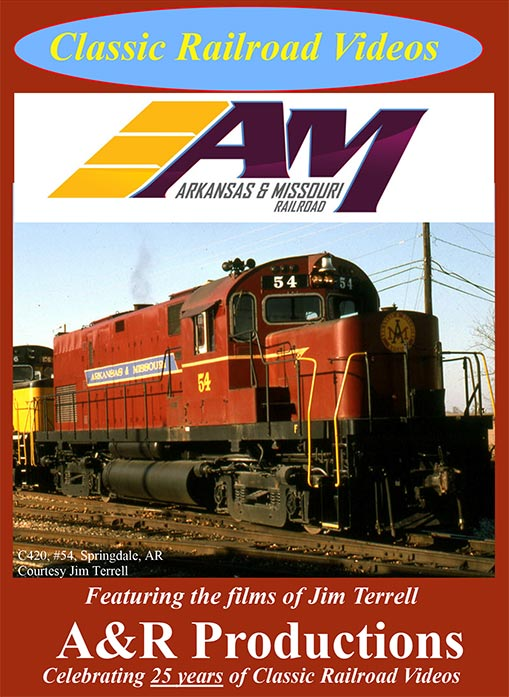 Arkansas & Missouri Railroad Train Video A&R Productions AM-1