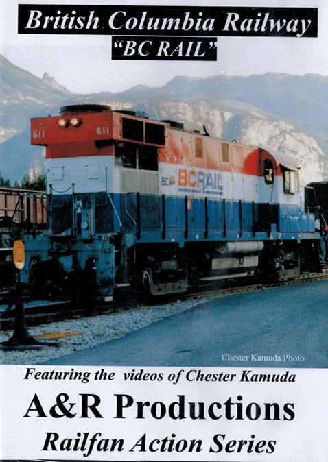British Columbia Railway BC Rail DVD Train Video A&R Productions BC-1 729440705947