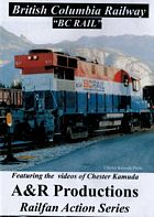 British Columbia Railway BC Rail DVD