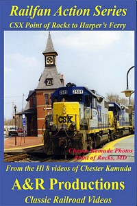 CSX Point of Rocks to Harpers Ferry DVD