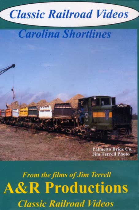 Carolina Shortlines DVD Train Video A&R Productions CS-1a