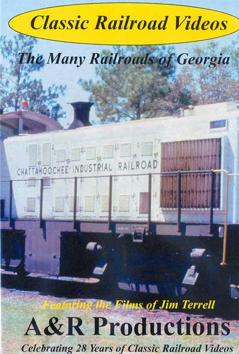 Many Railroads of Georgia DVD Train Video A&R Productions GA-1 729440706012