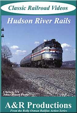 Hudson River Rails DVD Train Video A&R Productions HR-1 753182442471