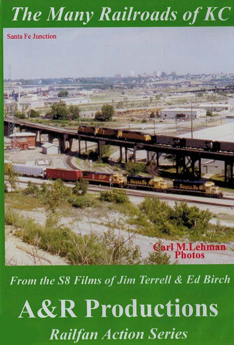 The Many Railroads of KC DVD Train Video A&R Productions KC-1