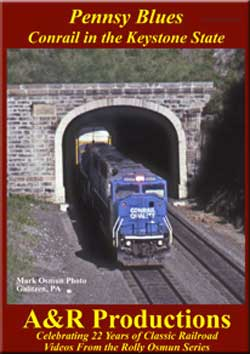 Pennsy Blues Conrail in the Keystone State DVD A&R Productions KS-1 753182442495