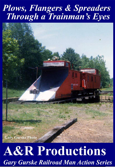 Plows Flangers & Spreaders Through a Trainmans Eyes DVD Train Video A&R Productions PF-1 753182442471