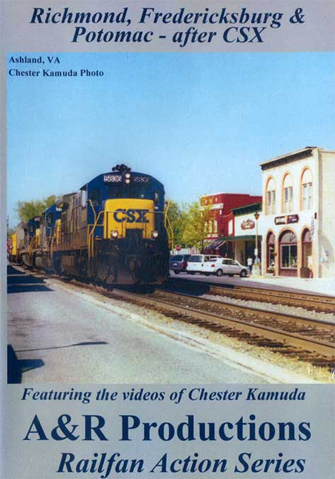 RIchmond, Fredericksburg & Potomac - After CSX DVD Train Video A&R Productions RF-1 729440705855