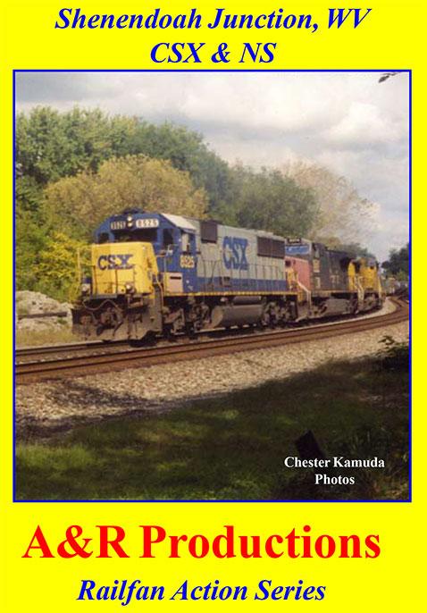 Shenendoah Junction West Virginia CSX NS A&R Productions SJ-1