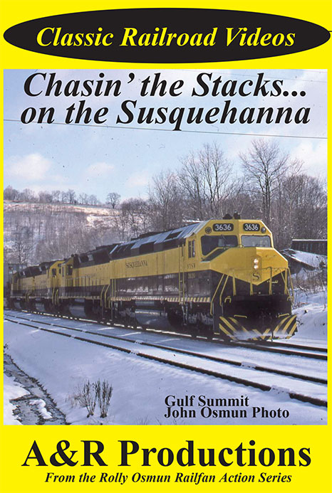 Chasin the Stacks on the Susquehanna DVD Train Video A&R Productions SQ-1 753182442457