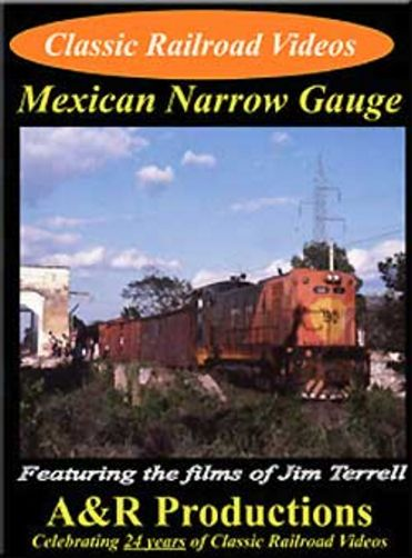 Mexican Narrow Gauge DVD Train Video A&R Productions YC-1 753182442334