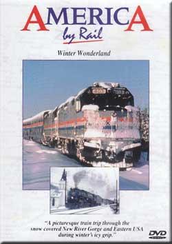 America by Rail - Winter Wonderland Greg Scholl Video Productions ABRWW 616964000309