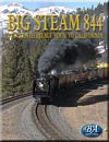 Big Steam 844 Western Heritage Tour to California DVD