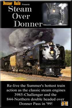 Steam Over Donner DVD BA Productions DR-SOD