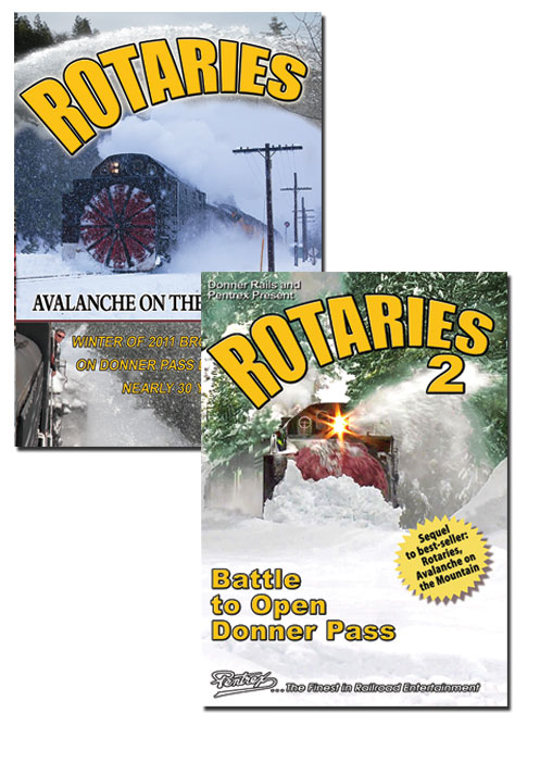 Rotaries 1 Avalanche on the Mountain & Rotaries 2 Battle to Open Donner Pass DVD