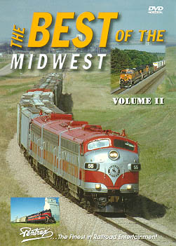 Best of the Midwest Vol 2 DVD Train Video Pentrex BMW2-DVD 748268004544