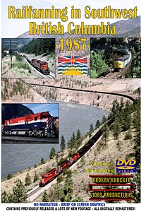 Railfanning in British Columbia 1987 DVD