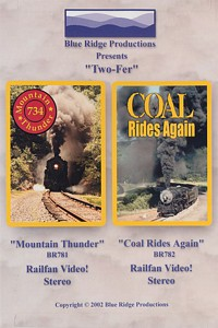 Two-Fer Combo Mountain Thunder and Coal Rides Again DVD