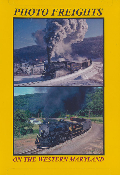 Photo Freights on the Western Maryland DVD Blue Ridge Productions BR785 822170010791