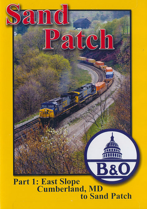 Sand Patch Part 1 East Slope Cumberland MD to Sand Patch DVD Train Video Blue Ridge Productions BR794 822170010890