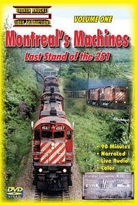 Montreals Machines Last Stand of the 251 Vol 1 DVD Video