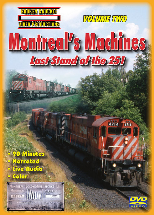 Montreals Machines Last Stand of the 251 Vol 2 DVD  Broken Knuckle Video Productions BKMM2-DVD