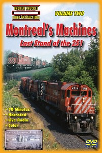 Montreals Machines Last Stand of the 251 Vol 2 DVD Video