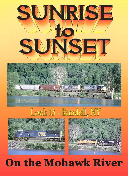 Sunrise to Sunset at Lock 13, Randall, NY Broken Knuckle Video Productions BKSS-DVD
