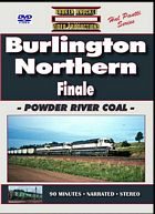 Burlington Northern Finale Powder River Coal DVD