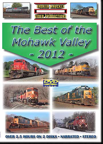 Best of Mohawk Valley 2012 - 2 disc DVD Train Video Broken Knuckle Video Productions BOMV-DVD