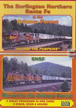 Burlington Northern Santa Fe in the Arizona Forest 3-Disc DVD