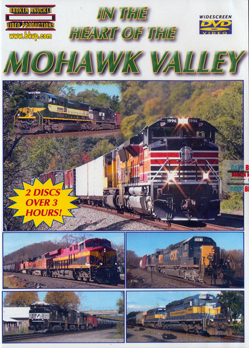 In the Heart of the Mohawk Valley DVD Train Video Broken Knuckle Video Productions IHMVDVD