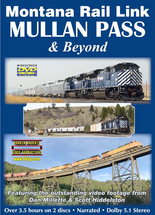 Montana Rail Link Mullan Pass and Beyond 2-Disc DVD Broken Knuckle Video Productions BKMUL-DVD
